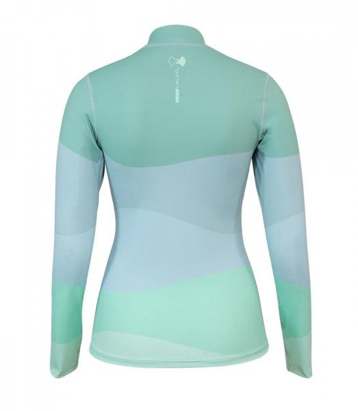 UV Long sleeve 'oscillio glacier green'