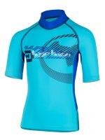 Vorschau: T-Shirt 'satellite moloki azur'