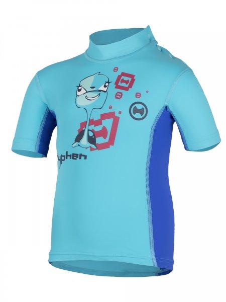 T-Shirt 'turli azurito'