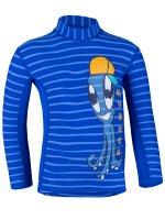 Preview: Longsleeve shirt 'yip hip ike striped cobalt / cobalt'