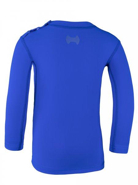 Langarmshirt 'cobalt'