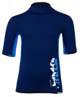 Preview: UV Shirt 'coo blue iris / cielo / white'