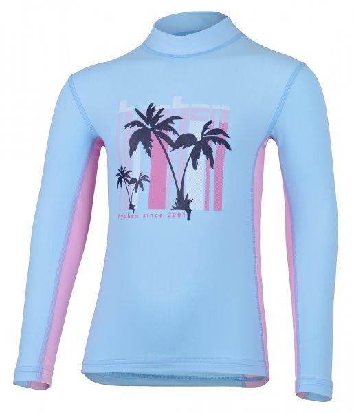 Long sleeve shirt 'kalani pid blue / cameo rose'