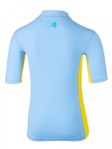 UV Kurzarmshirt 'kanaloa pid blue / amari'