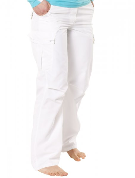 Pants 'cross white'