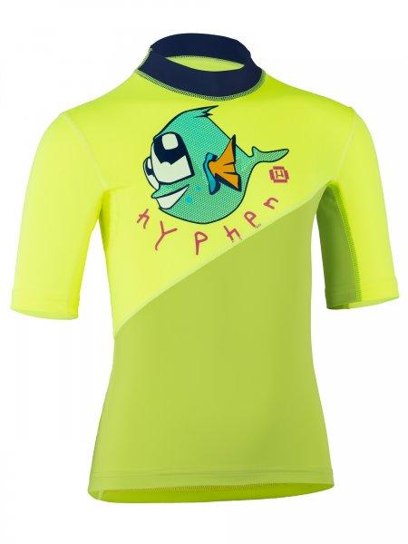 T-Shirt 'ichito lime / sonrisa'