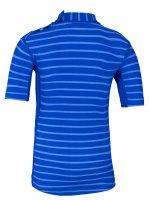 Preview: T-Shirt 'yip hip ike striped cobalt / cobalt'