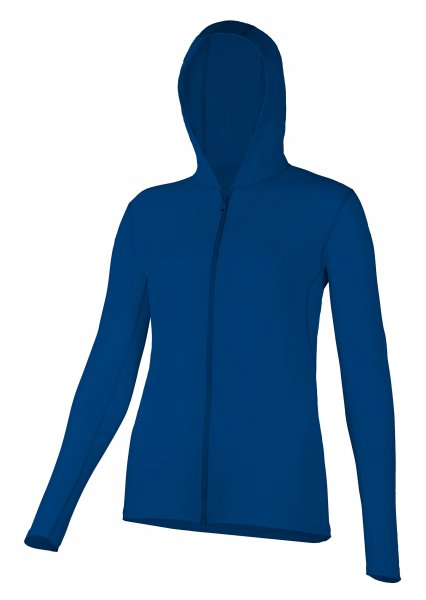 Hooded jacket 'blue eclipse'