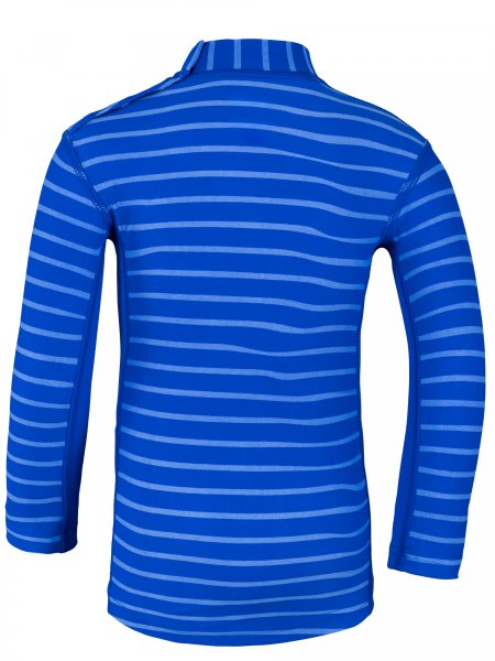 Langarmshirt 'yip hip ike striped cobalt / cobalt'