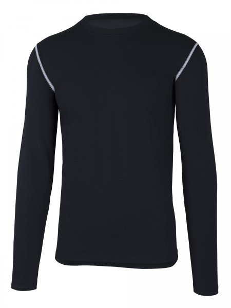 Partois Men Langarmshirt black