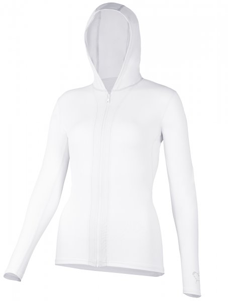 Hooded jacket 'white'