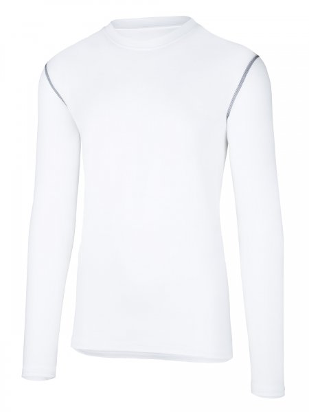 Partois Men Langarmshirt white