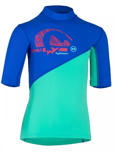 T-Shirt 'cobalt/bermuda'