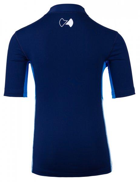 UV Shirt 'coo blue iris / cielo / white'