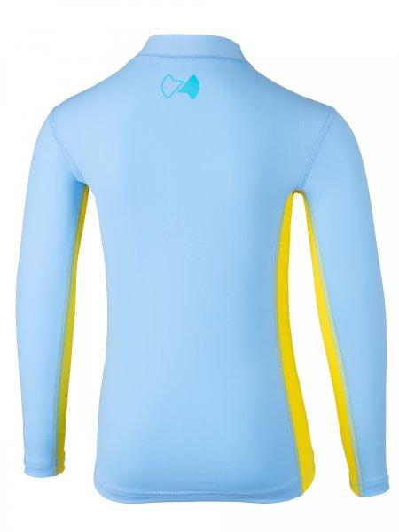 Langarmshirt 'kanaloa pid blue / amari'