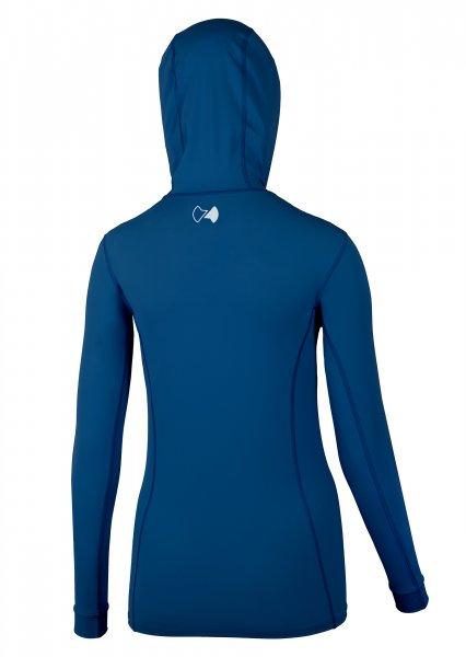 Hooded jacket 'blue eclipse'