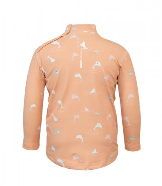 UV long sleeve 'dolphins decent tangerine'