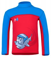 Preview: Long sleeve shirt 'swoopie licot / cielo'