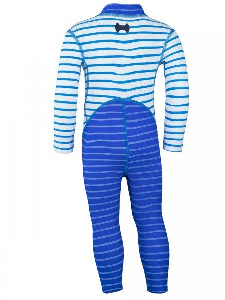 Overall 'okili striped cobalt / striped cielo'
