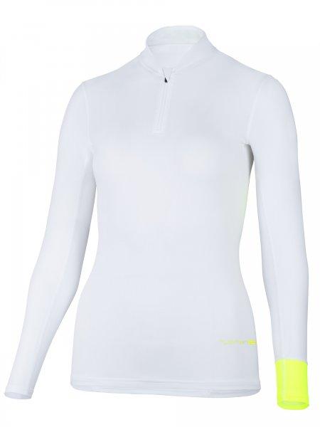 Langarmshirt 'koro white'