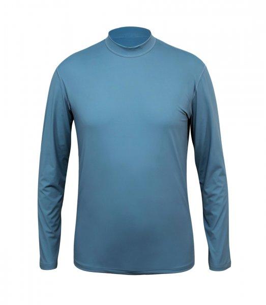UV Langarmshirt 'pebble grey'