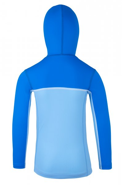 Hoodie with zipper 'coo cielo / pid blue'