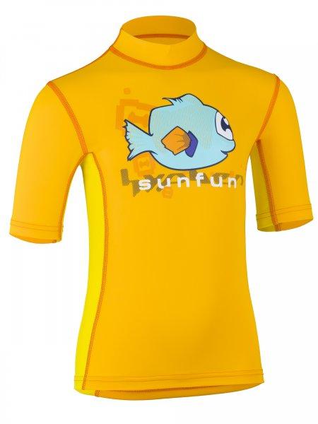 T-Shirt 'tek taru tangerine / amari'