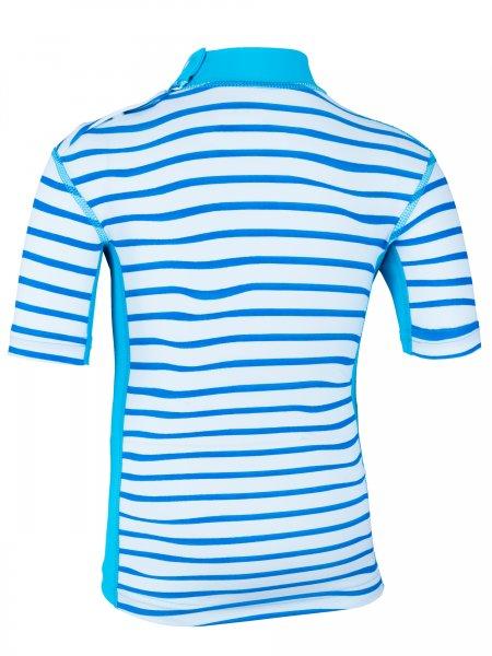 T-Shirt 'okili striped cielo / moloki azur'