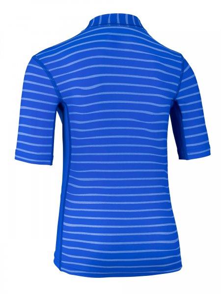 T-Shirt 'yip hip ike striped cobalt / cobalt'