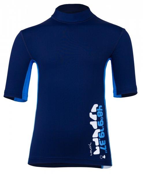 T-Shirt 'coo blue iris / cielo / white'