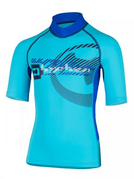 T-Shirt 'satellite moloki azur'