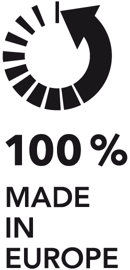 100% Made In Europe Label