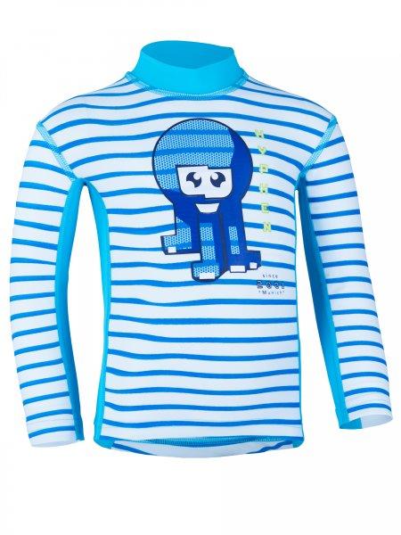 Longsleeve shirt 'okili striped cielo / moloki azur'