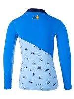 Vorschau: UV Langarmshirt 'repa cielo / pid blue'