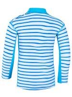 Vorschau: UV Langarmshirt 'okili striped cielo / moloki azur'