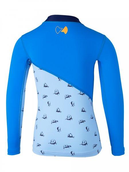 UV Langarmshirt 'repa cielo / pid blue'