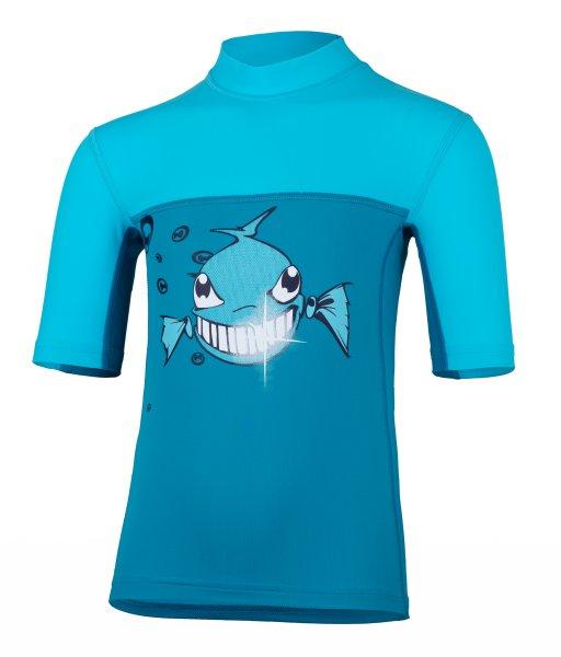 T-Shirt 'dynamite diamond moloki azur / capri'