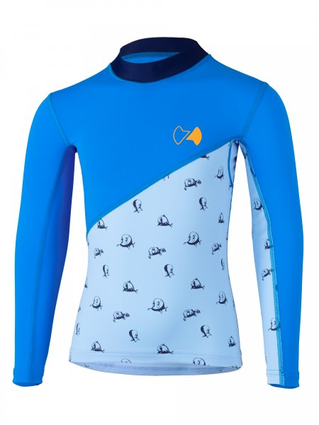 Langarmshirt 'repa cielo / pid blue'