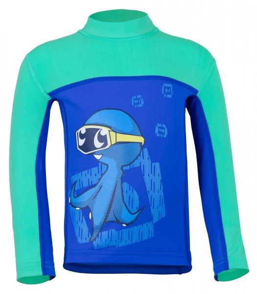 Langarmshirt 'ocy's dive bermuda / cobalt'