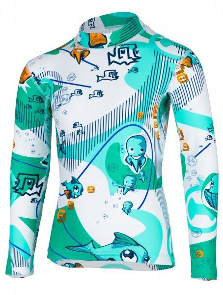 Longsleeve shirt 'waterworld'